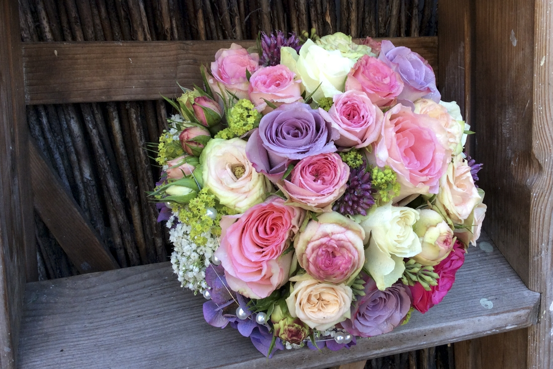 Brautstrauss Rosa Pink Flores Sandra Jonas