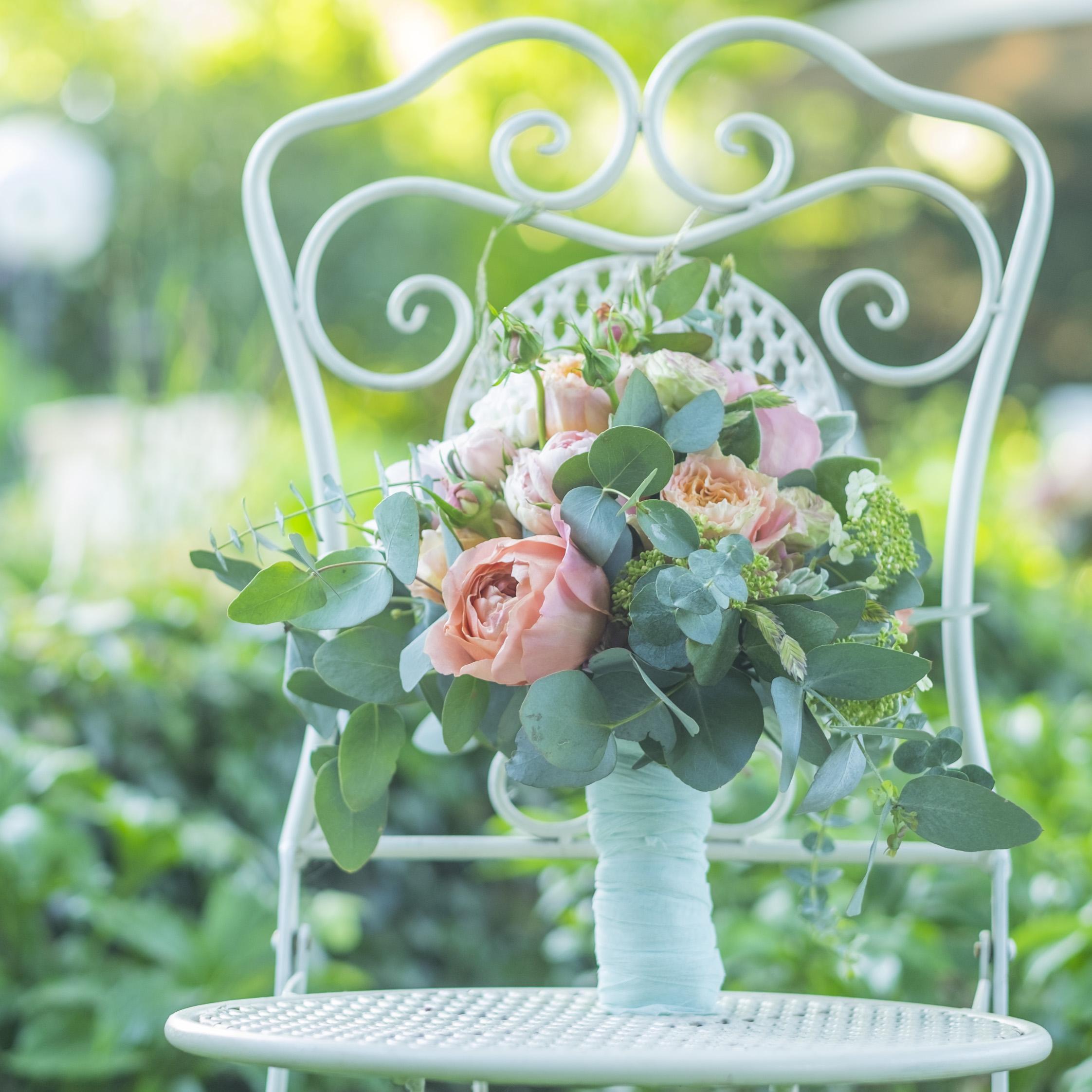 Brautstrauß im Boho-Style